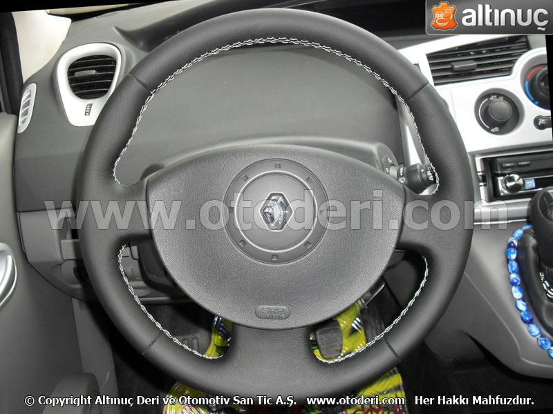 Renault megane 2 direksiyon deri kaplama